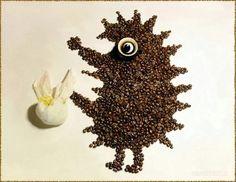 кофейный ёжик