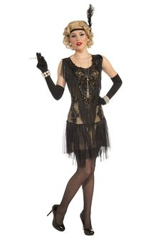 Lacey Lindy Adult Costume