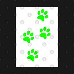 Check out this awesome 'Light+Green+Pawprints+on+White' design on @TeePublic! Blue Butterfly, Logos, Awesome, Green, Check, Stuff To Buy, Design, Art, Art Background