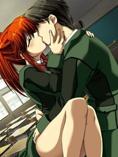 Anime Kiss Images Love