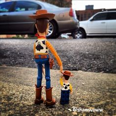 Woody! I love to imagine he had a little boy ;)