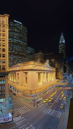 Grand Central Station, New York.