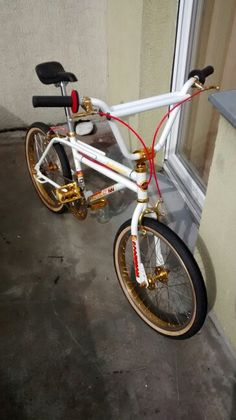 ..cleaning some goldies of my Freestyle BMX :P