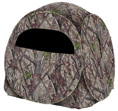 BlackOut Enigma Spring Steel Ground Blind | Bass Pro Shops: The Best Hunting, Fishing, Camping & Outdoor Gear
