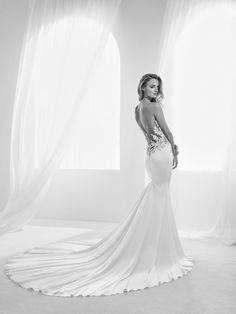 Vestido de novia cuerpo joya