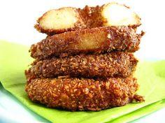 Cinnamon & Sugar Apple Rings (grain/sugar free)