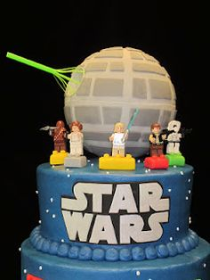 lego star wars cake @Nesheda Caldero - I'm gonna need you to work on this for Matt's birthday in October!