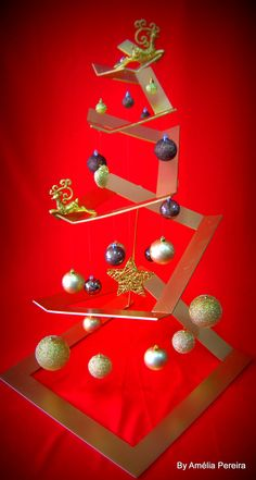 Arvore de Natal diferente ;) https://www.facebook.com/Ancoracor/