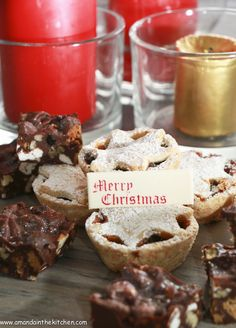christmas mince pies - gluten free - Amanda In The Kitchen Gluten Free Pastry, Mini Tart, Pastry Brushes, Mince Pies, Ground Almonds, Tarts, A Food, Food Processor Recipes, Amanda