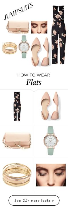 """Jumpsuit chic"" by gracieandem on Polyvore featuring Chloé, Mudd, Kate Spade, Claire Evans and jumpsuits"