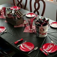 Coca-Cola themed birthday by Sarah Stewart