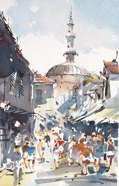 Tony Belobrajdic , Edirne-Turkey on ArtStack #tony-belobrajdic #art