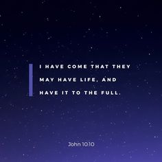 The life weve always wanted can only be found in Christ. Commit your lives to Jesus and experience life! Encouraging Bible Verses, Scripture Verses, Bible Verses Quotes, Bible Scriptures, Youversion Bible, Why Jesus, Amplified Bible, Bible Verse Wallpaper, Johannes