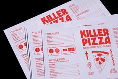Pizza Branding projects | Photos, videos, logos, illustrations and branding on Behance Pizza Branding, Pizza Logo, Food Branding, Pizza Menu, Bar Restaurant Design, Restaurant Identity, Menu Restaurant, Pizzeria Design, Design Café
