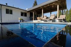 Swimming Pool Images, Swimming Pool House, Natural Swimming Pools, Above Ground Swimming Pools, Swimming Pool Designs, In Ground Pools, Shipping Container Pool Cost, Shipping Containers, Porches