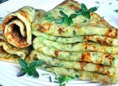 Zucchini-Käse-Pfannkuchen