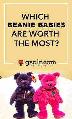 187f324b981 Forget the Princess Diana Beanie Baby...these are the most valuable ones to  own