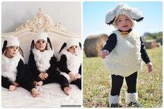 Disfraces originales de Navidad: ovejas