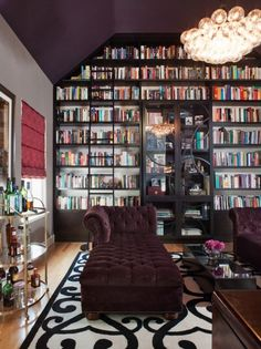 Willow Glen Residence by Lizette Marie Interior Design~ I think this is my dream library design. ~Christine of Hexotica Home Library Design, Dream Library, Home Design, Library Room, Beautiful Library, Future Library, Library Ladder, Library Ideas, Cozy Library