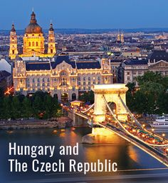 With immense cultural and artistic heritage, the countries of Hungary and The Czech Republic offer incredible vacation opportunities for the intellectual adventurer