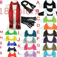 Aliexpress.com : Buy 18 Colors Available,Wholesale DIY Scarf Jewelry Accessories Without Pendant,PT 387 from Reliable scarf without pendant suppliers on Well Done Fashion Jewelry Co.,Ltd. $4.86