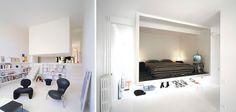 Een zwevende slaapkamer