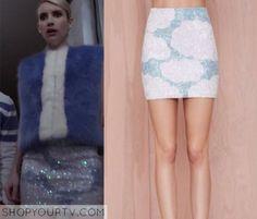 Scream Queens: Season 1 Episode 1 Chanel Oberlin's Sequin Cloud Skirt