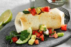 Grilled Bean and Rice Burritos