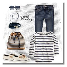 """Untitled #930"" by gallant81 ❤ liked on Polyvore featuring Abercrombie & Fitch, Sperry, J.Crew, Chloé and Salvatore Ferragamo"