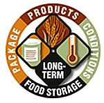 For longer-term needs, and where permitted, gradually build a supply of food that will last a long time and that you can use to stay alive, such as wheat, white rice, and beans. These items can last 30 years or more when properly packaged and stored in a cool, dry place. A portion of these items may be rotated in your three-month supply.