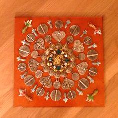 My first attempt at a mandala.