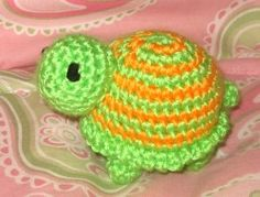 Turtle n Frog n Lady Bug Rattles  Newest patterns! - Kristieskids
