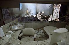 Broken down office.  9/11?