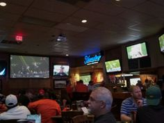Bailey's Sports Grille in Greenville, SC: Bailey's is your go-to place for great food and a great atmosphere! They've got big TVs, great burgers, and the service is exceptional! Find more places to watch the World Cup in the USA: http://pin.it/AeGWA1a