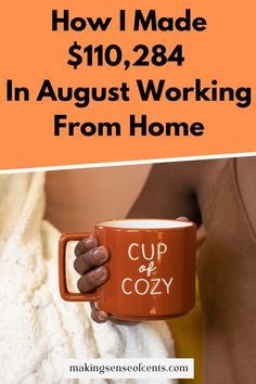 If you want to work from home but can't understand how to make money doing so, check out my August blogging report. See how much I earn monthly and learn how you can do the same!