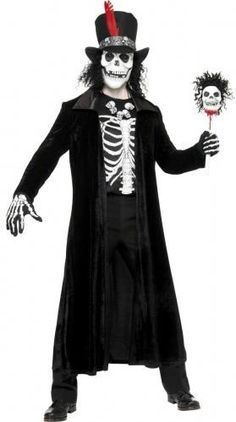 Déguisement vaudou adulte Halloween Taille M Costumi Di Halloween Da  Zombie b3df73aa5a22