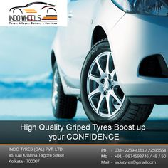 High Quality Griped Tyres Boost up your CONFIDENCE. http://www.indowheels.in/