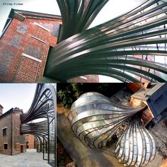 A look at the centuries old paper mill renovated to become the Bombay Sapphire Distillery http://www.ifitshipitshere.com/its-green-its-gorgeous-and-it-makes-gin-bombay-sapphires-sustainable-distillery/