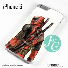 Badass Deadpool Phone case for iPhone 6 and other iPhone devices