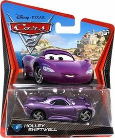 Disney / Pixar CARS 2 Movie 1:55 Die Cast Car #5 Holley Shiftwell