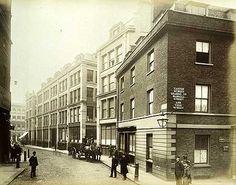 Falcon Street, City Of London, 1884.