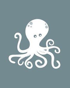 octopus free printable
