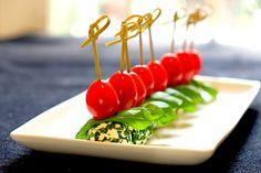 Mozzarella Tomato Appetizer