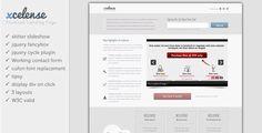 nice Xcelense Landing Page