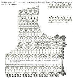 Crochet ideas that you'll love Gilet Crochet, Crochet Cardigan Pattern, Crochet Mittens, Crochet Shirt, Crochet Jacket, Freeform Crochet, Crochet Stitches, Knit Crochet, Crochet Fabric