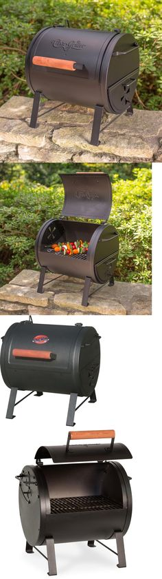 Attractive Camping BBQs And Grills 181388: Portable Charcoal Grill Side Fire Box  Outdoor Cast Iron Cooking