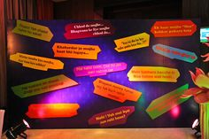 Quotes from classic Bollywood movies as a reception decoration!! LOVE it!