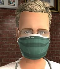 Mod The Sims - Surgical Mask - Accessory