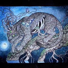 jaguar painting by caitlin hackett