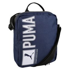 60e6cf004dcf Puma Pioneer Portable Bag Backpack Sack Navy Travel Gym Fitness Soccer  073472-